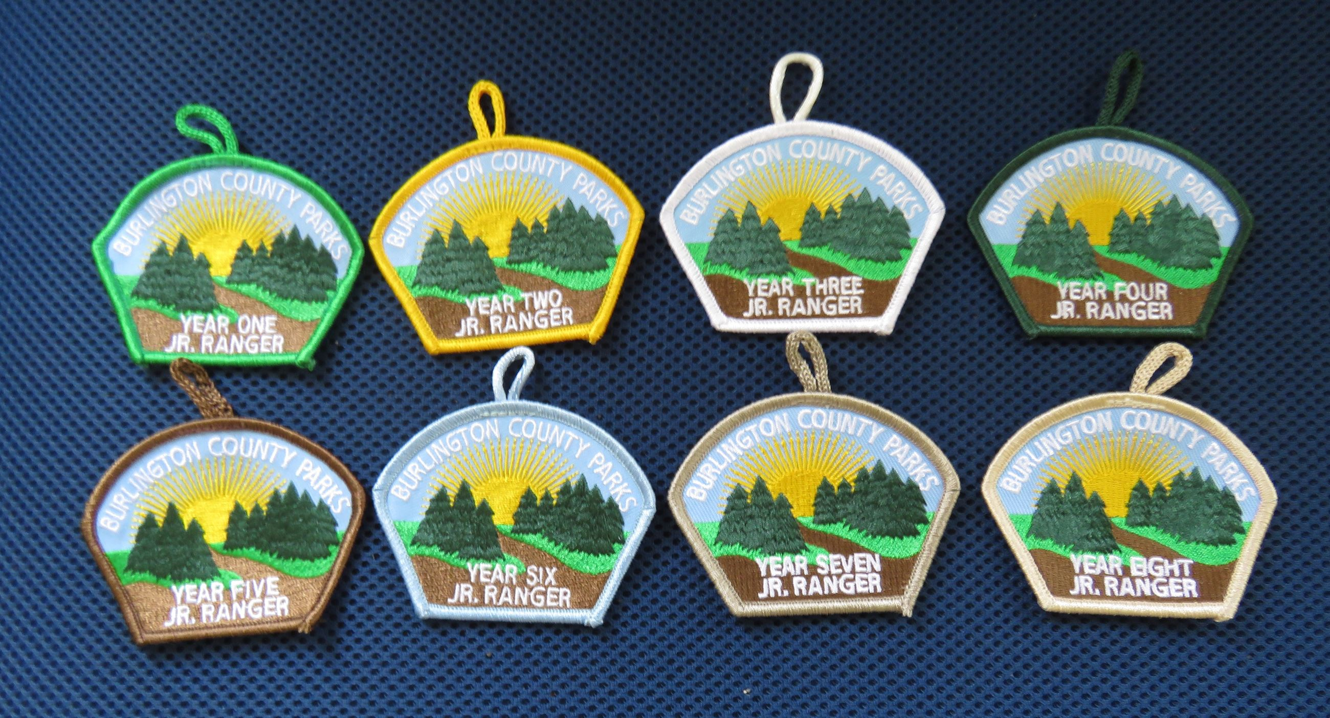 all junior ranger patches